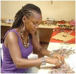 nyambura kenyian jewelry maker
